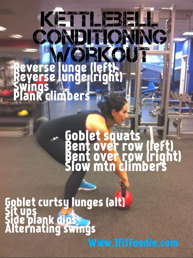 KB conditioning workout