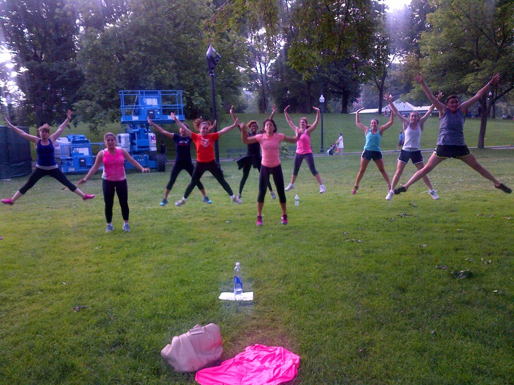 Free Lululemon Bootcamp that I hosted this past summer!